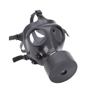 Israeli Adult Gas Mask Hydration Port W Straw With Extra Avon Filter And Us Bag