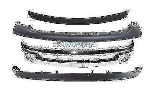 New Front Bumper Package Fits 2002 2005 Dodge Ram 1500 Kits 4