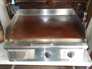 Adcraft Grid 24 Nsf Countertop 24 Electric Griddle Lightly Used