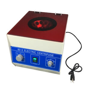 800 2 110v Electric Centrifuge Machine Lab Medical Practice Separate The Liquid