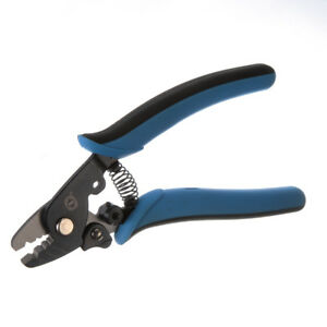 3 Hole Adjustment Fiber Optic Wire Cable Stripper Stripping Cutter Pliers Tools