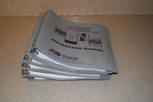 Applied Test Systems Ats Material Testing Manual Lot Model 3210 3620 1605