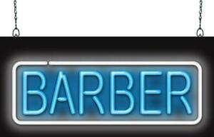 Barber Neon Sign Jantec 3 Sizes Haircut Free Shipping Real Neon