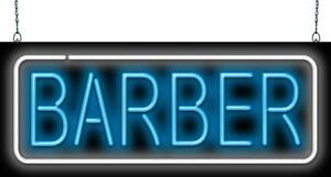 Barber Neon Sign Jantec 2 Sizes Hair Cut Shave Free Shipping