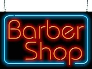 Barber Shop Neon Sign Jantec 2 Sizes Hair Cut Shave Free Shipping