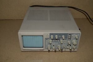 Protek Model 6504 40 Mhz Oscilloscope Scope 4a