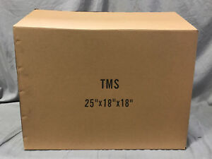 Lot 20 25 18 18 Cardboard Corrugated Moving Shipping Boxes Mailing Packing