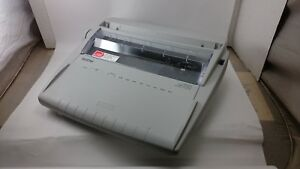Brother Gx 6750 Daisy Wheel Electronic Typewriter Vintage Keyboard Printer