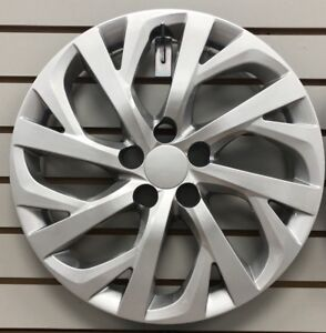 New 2017 2018 2019 Toyota Corolla 16 Silver Hubcap Wheelcover