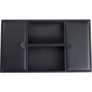 Royce Leather Executive Valet Desk Organizer Tray Business Accessorie New