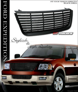 For 2003 2006 Ford Expedition Black Horizontal Front Hood Bumper Grille Cover