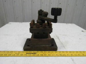 Lathe 4 Position Quick Change Manual Tool Post Holder 1 1 2 Shank