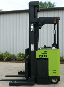 Clark Model Npr20 2000 4000 Lbs Capacity Great Reach Electric Forklift
