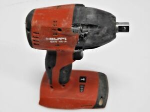 Hilti Siw 18 a Cordless Impact Wrench 18 voltage 1 2 Drive