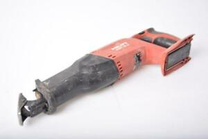 Hilti Wsr 18 a Cordless Reciprocating Saw