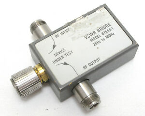 Wiltron 87a50 1 Vswr Bridge 2ghz To 18ghz 50 Ohm 0 5w