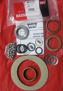 Warn 8409 Winch Replacement Brake Service Kit Part Repair Assembly M8274 50
