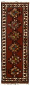 Charming Handmade Tribal Narrow Runner Ghoochan Persian Rug Oriental Carpet 2x7