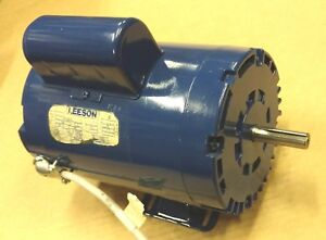 2hp Horsepower Single Phase Electric Motor 2 Hp 3450 Rpm 115 230 Volts 115v 1ph