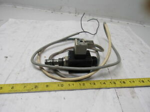 Continental Hydraulics Cemdv 10 3d 115ag Solenoid Valve 3 way Direct Acting