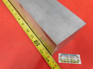 2 Pieces 3 X 3 Aluminum 6061 Square Solid Bar 14 Long T6511 Flat Mill Stock