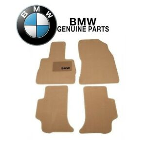 For Bmw E53 X5 Carpet Floor Mats Cloth Mat Beige Front And Rear Genuine
