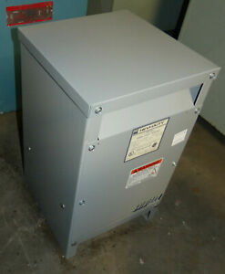 Hevi duty S5h25s 1 Phase 25 Kva General Purpose Transformer 3r Shielded
