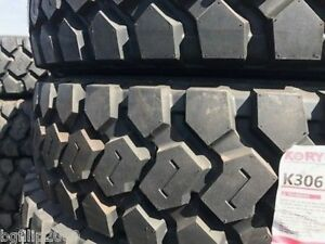 1tire Commercial Truck Tire 11r24 5 K306 Heavy Lug Drive Tires