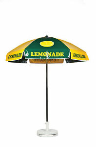 Lemonade Vendor Cart Concession Umbrella With Tilt