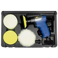 Astro Pneumatic 3055 3 In Mini Air Polishing Kit W Pads And Case