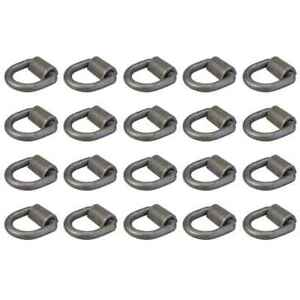 Lashing Ring Weld On 3 4 X 26 500 Lbs Forged Mounting Ring 20 Pack
