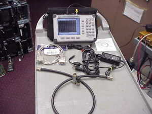 Anritsu S820d Site Master Cable antenna Analyzer 25mhz 20ghz with Cal Kit