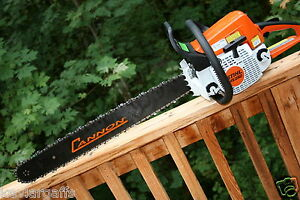 Piltz Stihl Ms250 Chainsaw Hot Saw Full Chisel 3 8 Chain 28 Inch Bar Extras