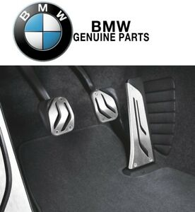 For Bmw 1 2 3 4 5 6 Series M Performance Stainless Steel Pedal Covers Set Manual