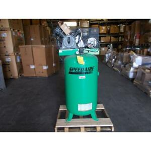 Speedaire 35wc83 hs538000aj 80 Gallon 5 Hp 2 Stage Electrical Air Compressor