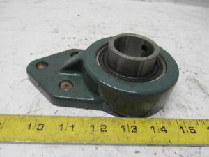 Dodge Fb sc 107 1 7 16 Bore 2 Bolt Flange Ball Bearing