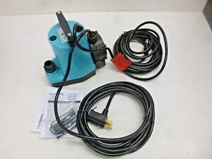 New Little Giant Pump 1 6 Hp 115v 1 In Fnpt 5 asp