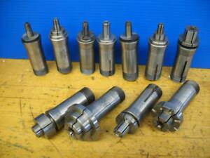 12 Dunham Royal Hardinge Expanding 5c Collets 398 2 46 Lathe Mandrel