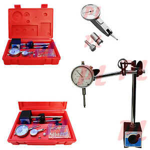 1 Dial Indicator Test Indicator Magentic Base 001 Graduation 22 Point Set