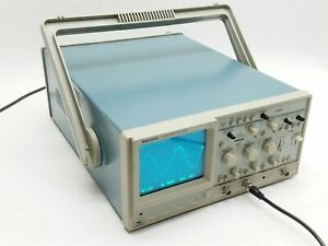 Tektronix Tas 250 Two channel Digital Analog 50mhz Portable Oscilloscope