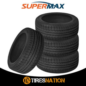 4 New Supermax Tm 1 205 55r16 91t High Performance All Season Tires