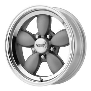 4 New 17x7 American Racing Vn504 Mag Gray Wheel Rim 5x120 65 17 7 5 120 65 Et0