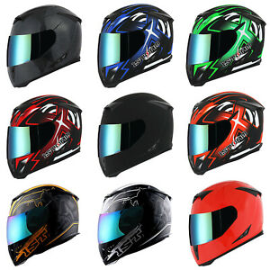 New 1Storm Adult Motorcycle Full Face Helmet Skull King One Extra Clear Shield $54.95