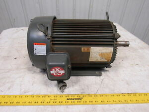 Emerson 10hp 1760rpm 208 230 460v 50 60hz 1 3 8 Shaft Ac Motor