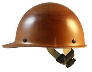 Msa Skullgard Cap Style Hard Hat With Swing Suspension Natural Tan Color