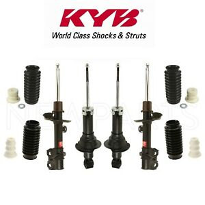 Front Rear Struts Shock Absorbers With Bellows For Honda Cr V 2007 2011