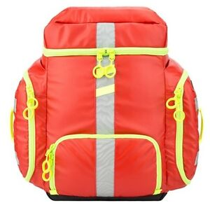 New Statpacks G3 Clinician Emt Backpack Medic Jump Bag Red Stat Packs