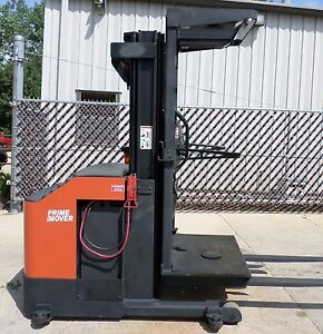 Prime Mover Model Opx30 2004 3000 Lbs Capacity Order Picker Electric Forklift
