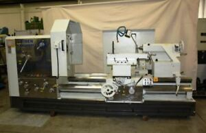 45 60 X 62 C c Eisen Pa4560 Gap Bed Oilfield Lathe Lmc 38346