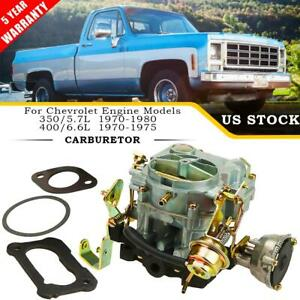 Carburetor Type Rochester For Chevy 2gc 2 Barrel 305 350 5 7 400 6 6l